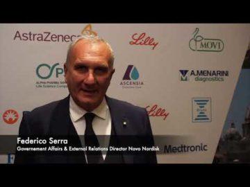 Le interviste del XVIII Congresso Nazionale SIMDO   Dott. F. Serra - Novo Nordisk